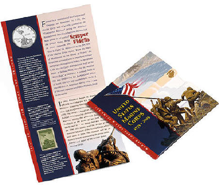 2005 Marine Corps Commemorative Silver Dollars
